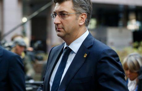 Plenković ne vidi smisla v srečanju zunanjih ministrov Hrvaške in Slovenije