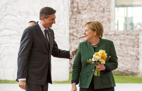 Merklova prihaja v Slovenijo, Pahor ji bo podaril najvišje slovensko odlikovanje
