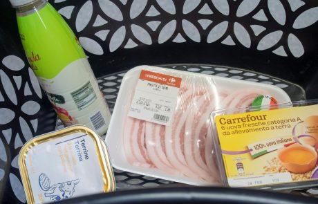 URADNO: V vzhodni Evropi kupujemo slabšo hrano, kot na Zahodu