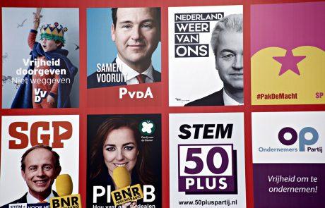 Na Nizozemskem so se odprla volišča za parlamentarne volitve, ki potekajo v senci spora s Turčijo