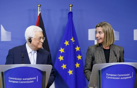 EU izrekla podporo palestinskemu predsedniku Abasu