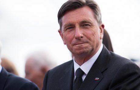 Pahor bo danes vročil državno odlikovanje častni znak svobode Republike Slovenije