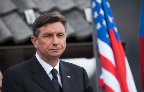 Pahor si želi vabila v Belo hišo, pa če bo tja moral na kolenih
