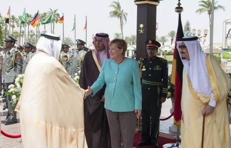 Nemčija in Savdska Arabija za vojaško in policijsko sodelovanje med državama