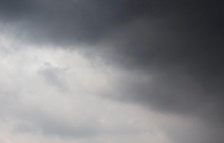 Vreme: Pretežno oblačno, popolne možna kakšna kaplja dežja