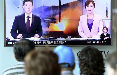 Seul: Severna Koreja izstrelila dve balistični raketi