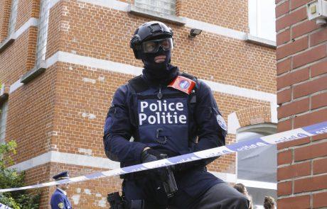 Belgijska policija v protiteroristični akciji odkrila skrivališče orožja