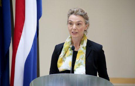 Hrvaška zunanja ministrica ostro nad Erjavca