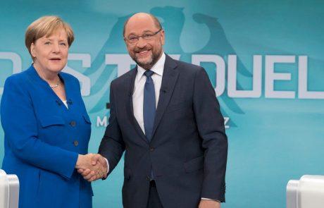 Schulz za pogovore z Merklovo, a vstop v koalicijo ostaja odprt