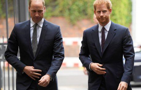 """""""Nismo rasisti"""": Princ William ima sporočilo za Harryja in Meghan"""