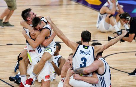 Slovenski košarkarji v zgodovinski prvi tekmi na OI visoko premagali svetovne podprvake Argentince