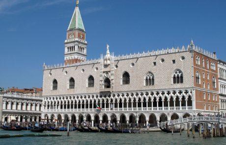 Na Hrvaškem prijeli pet osumljencev kraje nakita milijonske vrednosti iz Doževe palače v Benetkah