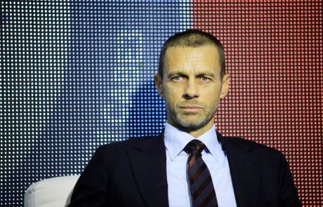Čeferin: Resno se bomo pogovorili o prihodnosti zaključnega turnirja v ligi prvakov in evropski ligi