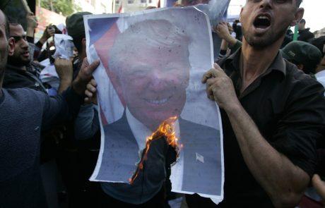 Protesti zaradi Jeruzalema že zahtevali prve smrtne žrtve