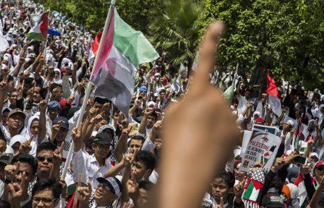 Arabske države pozivajo ZDA, naj prekličejo odločitev glede Jeruzalema