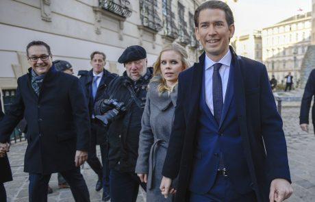V Avstriji odmeva novica dneva: Kancler Kurz bo prvič postal očka