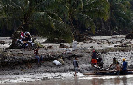 Število žrtev nevihte na Filipinih narašča