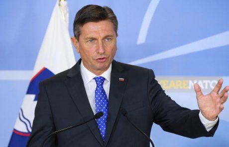 Pahor znova dokazal, da nima ne hrbtenice, niti dostojanstva