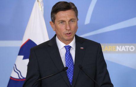 Pahor na sedežu Nata izpostavil pomen vlaganja v varnost