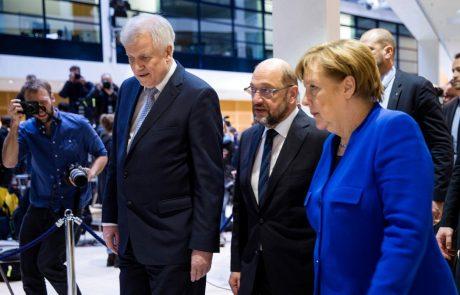 V Nemčiji dosegli dogovor o veliki koaliciji