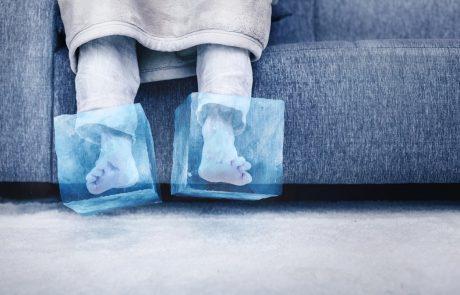 6 nasvetov, kako segreti vedno mrzle noge