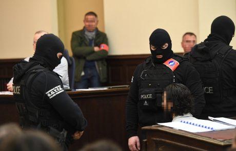 Abdeslama zaradi streljanja na policiste v Bruslju obsodili na 20 let zapora