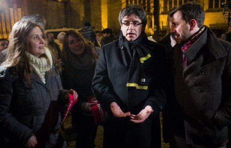 Belgija ustavila obravnavo naloga za izročitev Puigdemonta Španiji