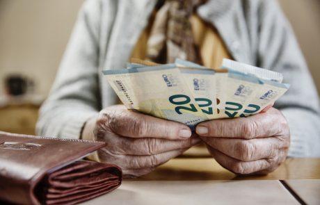 Konec meseca bodo izplačane višje pokojnine