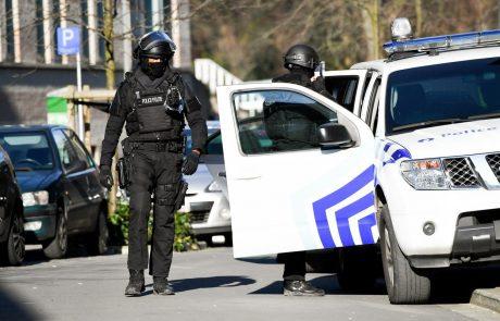V protiteroristični operaciji v Belgiji aretirali več ljudi