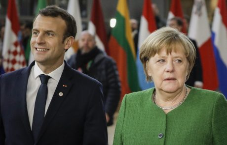 Macron in Merklova Putina pozvala, naj na sirski režim izvrši največji možni pritisk