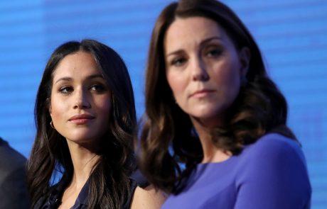 Nikoli ji ne bo oprostila: Znan vzrok, zakaj sta Meghan in Kate hudo skregani