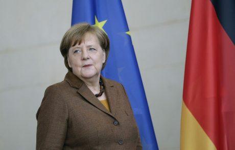 """Angela Merkel: """"Sramotno je in globoko se sramujem, da v naši državi v tem času vidimo izraze rasizma in antisemitizma"""""""