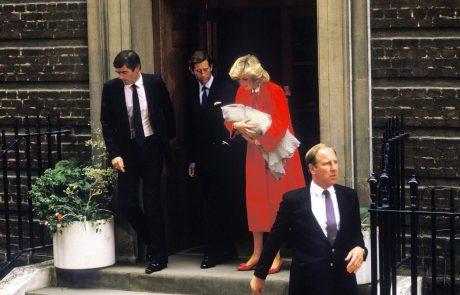 Princesa Diana je med nosečnostjo pred Charlesom skrivala veliko skrivnost