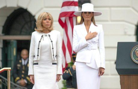 Prva dama Francije razkrila, kako Melania živi v Beli hiši – in res je žalostno