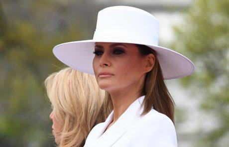 Melania ni hotela v Belo hišo, dokler tam ne zamenjajo stranišč in tušev, ki so jih uporabljali Obamovi