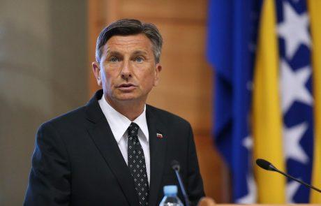 Pahor v Šibeniku ponovno pozval Hrvaško, naj sprejme arbitražno razsodbo