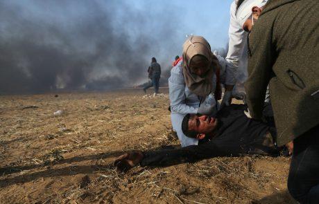 Izraelski tanki obstreljevali položaj Hamasa v Gazi