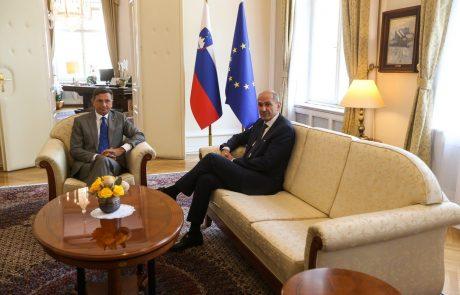 Pahor predlagal Janšo za novega predsednika vlade