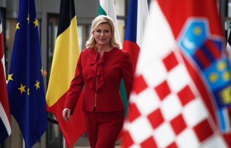 Grabar-Kitarovićeva se hvali s podporo obsojenke za ugrabitev letala