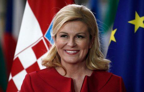 Nekdanja hrvaška predsednica Kolinda Grabar-Kitarović zavrača, da bi jo podkupil obsojeni nekdanji izvršni predsednik nogometnega moštva Dinamo