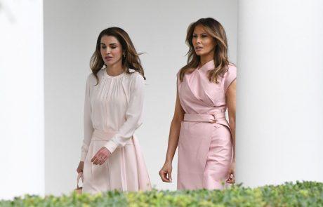 Melania Trump zasenčila najlepšo kraljico na svetu