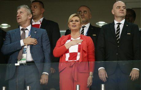 Grabar-Kitarovićeva predstavila predvolilni program, poln populizma in domoljubnih krilatic