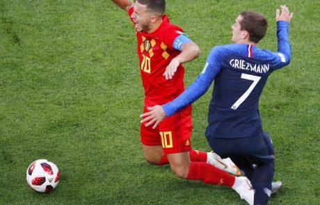Belgijski nogometaši niso najbolje sprejeli poraza proti Franciji na svetovnem prvenstvu v Rusiji