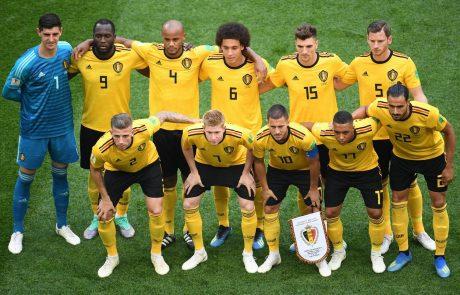 Nogometaši Belgije so osvojili tretje mesto na svetovnem prvenstvu v Rusiji.