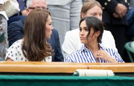 Govorice o tem, da se Kate in Meghan prepirata, vedno glasnejše: Do incidenta prišlo tudi tik pred poroko