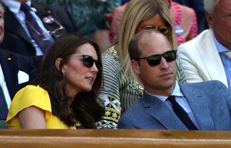 Srečo Kate Middleton in princa Williama je želela uničiti članica kraljeve družine