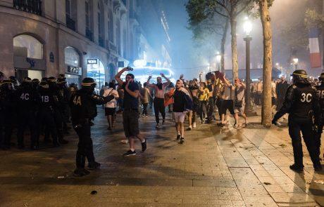 V Franciji ob posredovanju zaradi nezakonitega rejva več ranjenih policistov