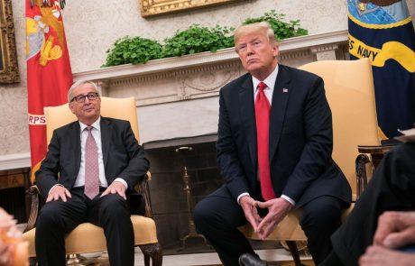 EU in ZDA z dogovorom o umiritvi trgovinskih napetosti