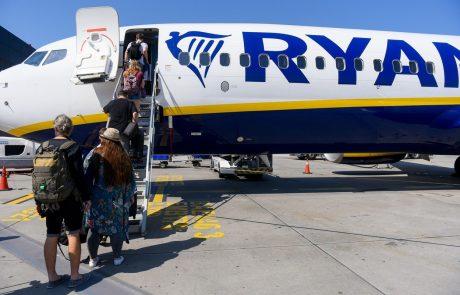 Ryanair bo še dodatno zmanjšal število letov, saj se je povpraševanje spet precej zmanjšalo