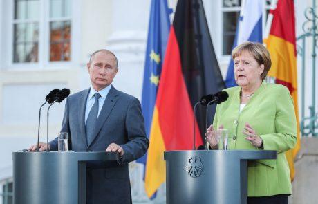 Merklova baltskim državam zagotovila podporo v odnosih z Rusijo